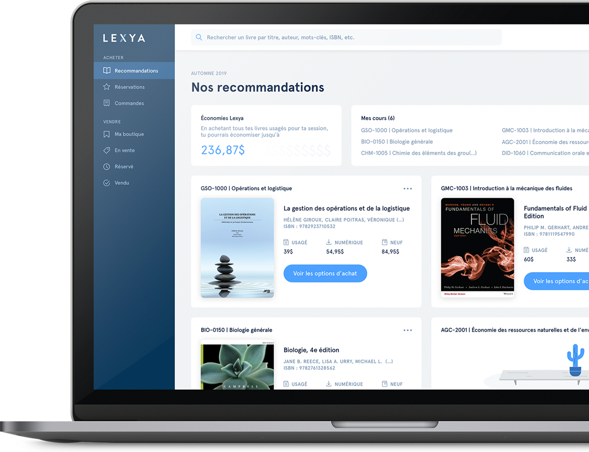 Lexya - l'application